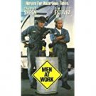men at work - charlie sheen + emilio estevez VHS 1990 RCA columbia PG-13 used