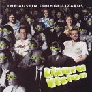 austin lounge lizards - lizard vision CD 1996 rounder flying fish used mint