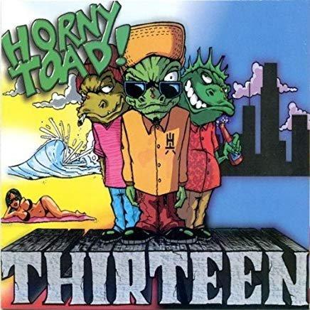 horny toad! - thirteen CD 1996 domo 12 tracks used mint