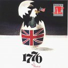 1776 - 1969 original broadway cast soundtrack - william danniels + paul hecht CD 1992 sony used mint