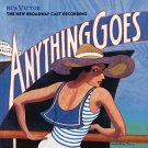 anything goes - cole porter + gregory mosher + patti lupone CD 1988 RCA 18 tracks used mint