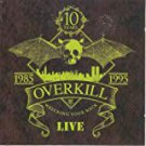 over kill - wrecking your neck live 1985 - 1995 CD 2-discs cmc international used mint