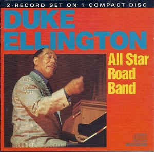 duke ellington - all star road band CD 1983 doctor jazz 15 tracks used mint