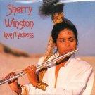 sherry winston - love madness CD 1989 headfirst evidence 11 tracks used mint