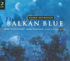 balkan blue - dusko goykovich CD 2-discs 1997 enja 18 tracks used mint