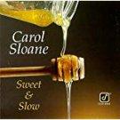 carol sloane - sweet & slow CD 1993 concord 12 tracks used mint
