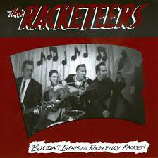 the racketeers - boston infamous rockabilly racket! CD 1998 scollay square 11 tracks used mint