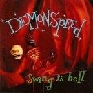 demonspeed - swing is hell CD black pumpkin 7 tracks used mint