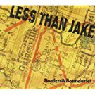 less than jake - borders & boundaries CD 2000 fat wreck 15 tracks used mint