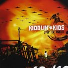 riddlin' kids - stop the world CD 2004 aware 12 tracks used mint
