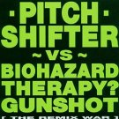pitch shifter vs biohazard therapy? gunshot the remix war CD 1994 earache 7 tracks used mint