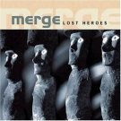 merge - lost heroes CD 2001 a different drum 11 tracks used mint