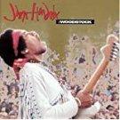 jimi hendrix - woodstock CD 1994 MCA 12 tracks used mint