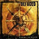 defaced - karma in black CD 2003 nuclear blast 10 tracks used mint