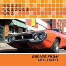 rhett frazier inc - escape from dee-troyt CD 2009 10 tracks used mint