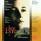 jane eyre - original soundtrack recording CD 1999 RTI 18 tracks used mint