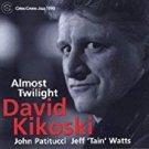 david kikoski - almost twilight CD 1999 criss cross jazz 9 tracks used mint