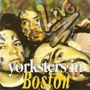 live - yorksters in boston CD 1995 home records made in germany 16 tracks used mint