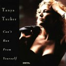 tanya tucker - can't run from yourself CD 1992 liberty 10 tracks used mint