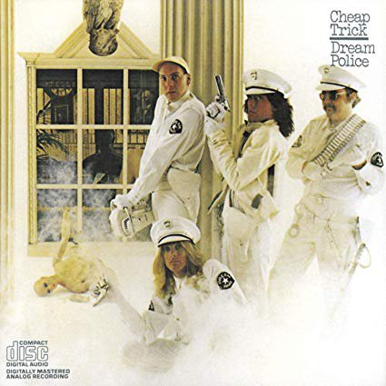 cheap trick - dream police CD 1979 epic CBS 9 tracks used mint