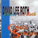 david lee roth - crazy stages CD 1993 robespierre Italy 12 tracks used mint