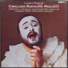 cavalleria rusticana + pagliacci - pavarotti VINYL 3-discs with booklet 1978 London FFRR used mint
