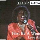gloria gaynor - first be a woman / love affair CD single zyx germany 5 tracks used mint