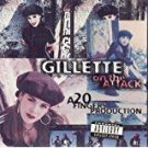 gillette on the attack - a 20 fingers production CD 1994 zoo BMG 10 tracks used mint