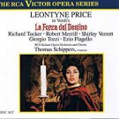 verdi: la forza del destino - leontyne price + Thomas Schippers conductor CD 3-discs RCA used
