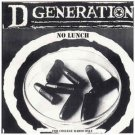 d generation - no lunch - for college radio only CD 1996 sony 7 tracks used mint