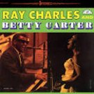 ray charles and betty carter CD 1988 dunhill dcc 15 tracks used mint