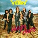 victory - hungry hearts CD 1987 metronome 1989 rhino rampage germany 10 tracks used mint