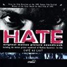 hate / cafe au lait - original motion picture soundtrack CD 1996 BMG milan 16 tracks used mint