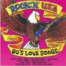 rock'n usa - 80's love songs CD 1995 warner exelsior 10 tracks used mint