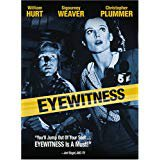 eyewitness - william hurt + sigourney weaver + christopher plummer DVD 2005 fox anchor bay used