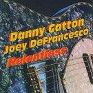 danny gatton + joey defrancesco - relentless CD 1994 big mo 9 tracks used like new