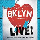 Brooklyn the musical live! - original broadway cast recording CD 2004 razor & tie used like new