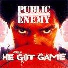 he got game - public enemy CD 1998 def jam 13 tracks used like new