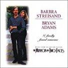 barbra streisand + bryan adams - i finally found someone CD single 1996 sony 3 tracks used