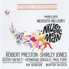 music man - original soundtrack recording - meredith wilson CD 1962 warner used mint