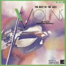 best of the jazz violins - joe venuti + stephane grappelli CD 1989 lester recording denon used mint