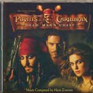 pirates of caribbean: dead man's chest - music composed by hans zimmer CD 2006 disney used mint