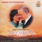 shadowlands - original film soundtrack - george fenton CD 1994 angel bmg direct used mint