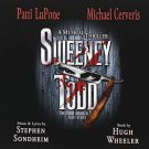 sweeney todd - patti lupone + michael cerveris CD 2-discs 2006 nonesuch used