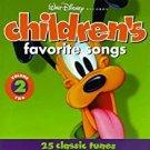 walt disney records - children's favorite songs volume 2 CD 25 tracks used mint