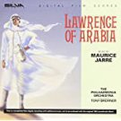 lawrence of arabia - original film scores - maurice jarre CD 1989 1992 silva screen used mint