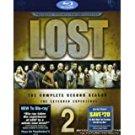 lost - complete second season bluray 7-discs 2009 ABC TV-14 new
