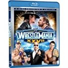 WWE wrestlemania XXVII bluray 2-disc collector's edition 2011 used mint