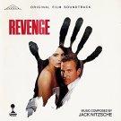 revenge - original film soundtrack - jack nitzsche CD 1990 columbia silva screen used like new