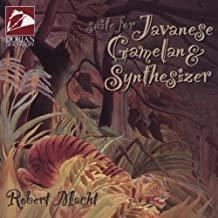 robert macht - suite for japanese gamelan & synthesizer CD 1996 dorian 7 tracks used like new